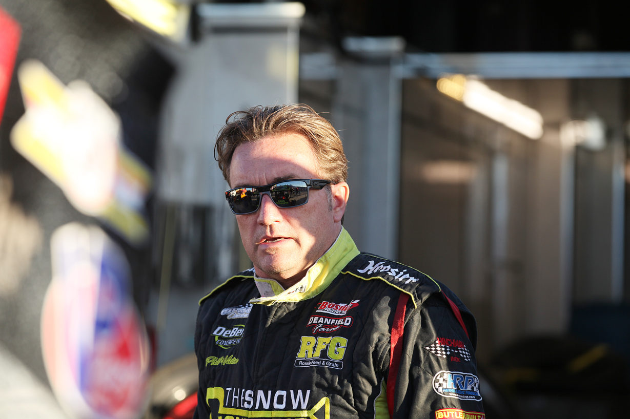 Knoxville raceway legend; Terry McCarl made his annual pilgrimage to Florida to race at Volusia and East Bay.( Jeffrey Turford / TDP )