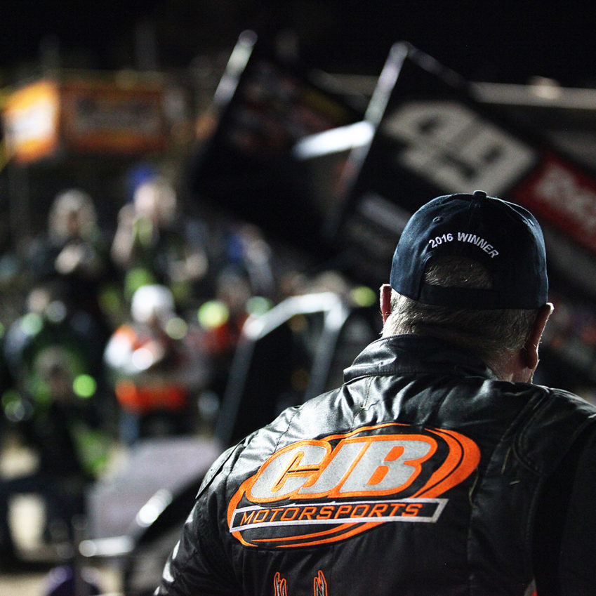 Sammy Swindell places 3rd on Saturday at The 2016 DIRTcar Nationals; a World of Outlaws Craftsman® Sprint Car Series win. ( Jeffrey Turford / TDP )