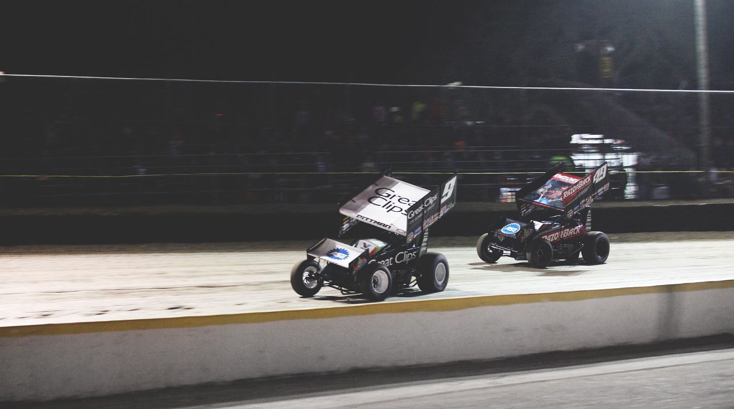 Daryn Pittman and Brad Sweet