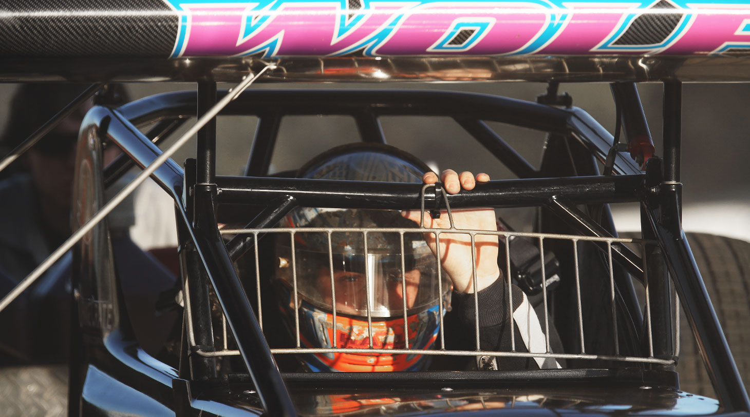 Lucas Wolfe now drives the famous Zemco no.1 car owned by John and Pee Wee Zemaitis. (Jeffrey Turford / TDP)