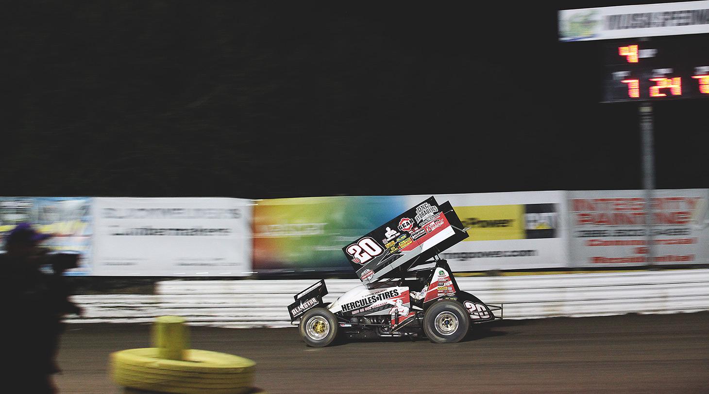 Greg Wilson was the 2015 Ohio Speedweek champion. (Jeffrey Turford / TDP)