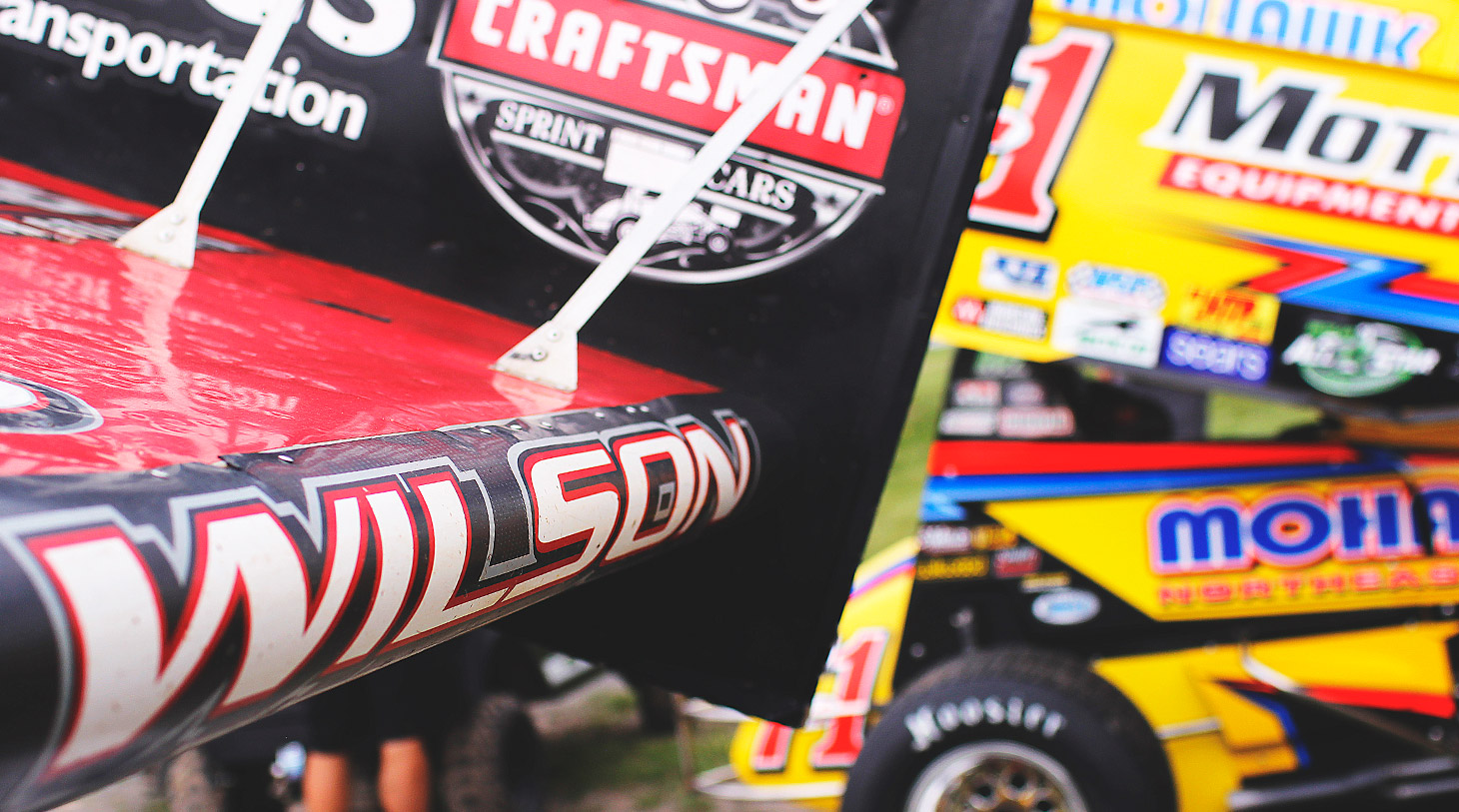 Greg Wilson currently leads the Rookie of the Year standing with The World of Outlaws. (Jeffrey Turford / TDP)