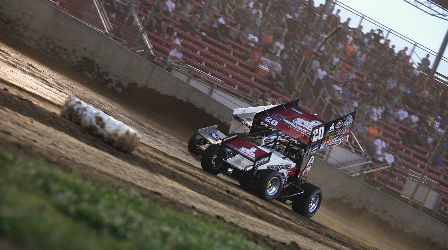 Greg Wilson has captured over 100 sprint car feature wins including 25 All Star victories. (Jeffrey Turford / TDP)