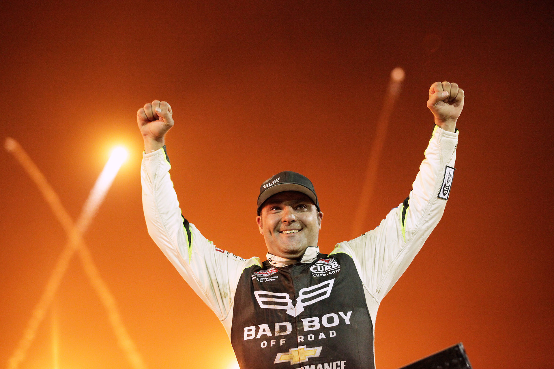 Donny Schatz held off strong competition from both Rico Abreu and Christopher Bell to win The 33rd Kings Royal. ( Jeffrey Turford / TDP )
