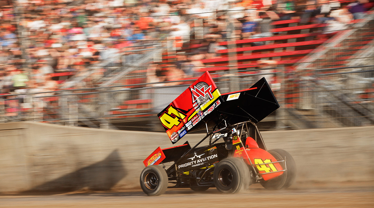 Jason Johnson has 4 career World of Outlaws feature wins and 78 ASCS National Tour Wins. (Jeffrey Turford / TDP)