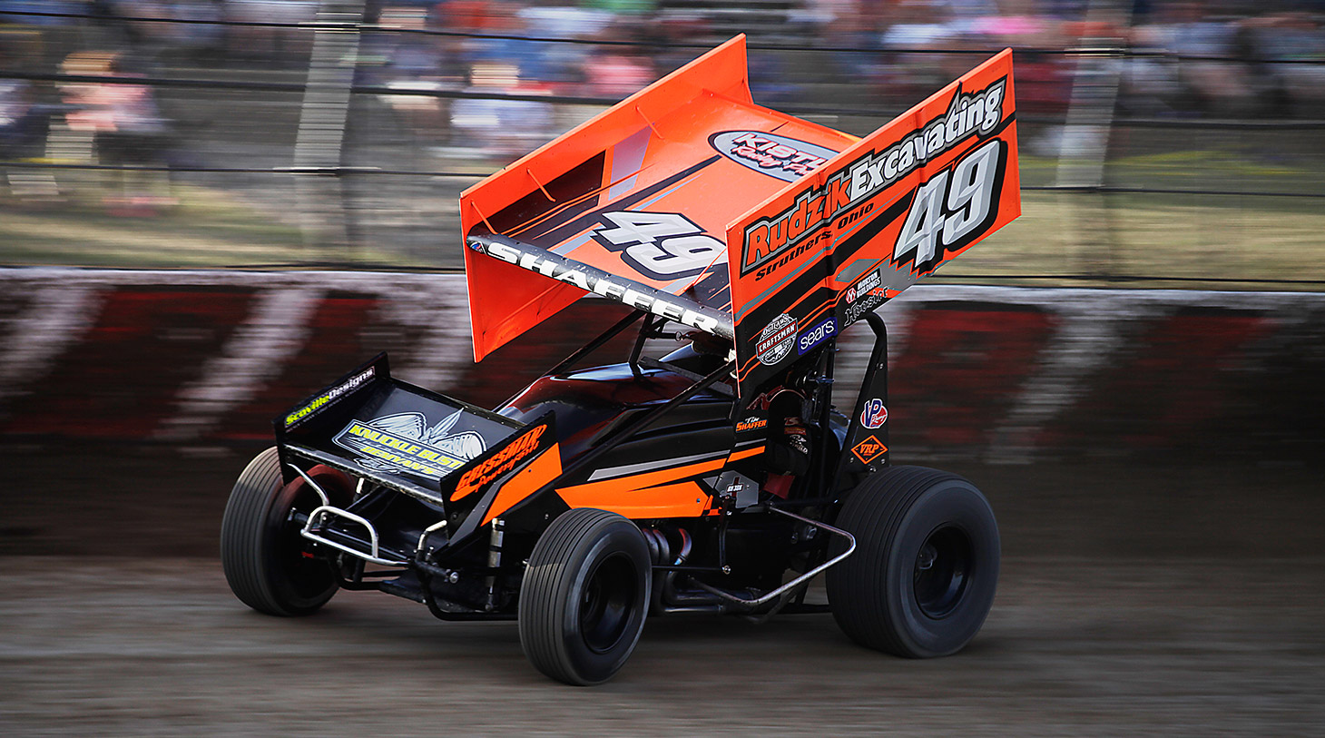 Tim Shaffer qualifying at The 33rd Annual Kings Royal. (Jeffrey Turford / TDP)