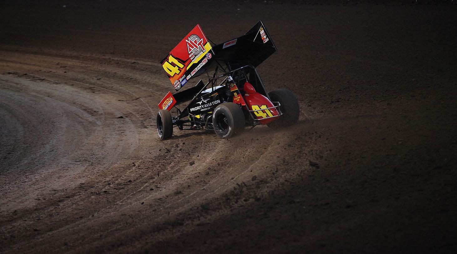 Jason Johnson and wife Bobbi formed Jason Johnson Racing in 2010. (Jeffrey Turford / TDP)