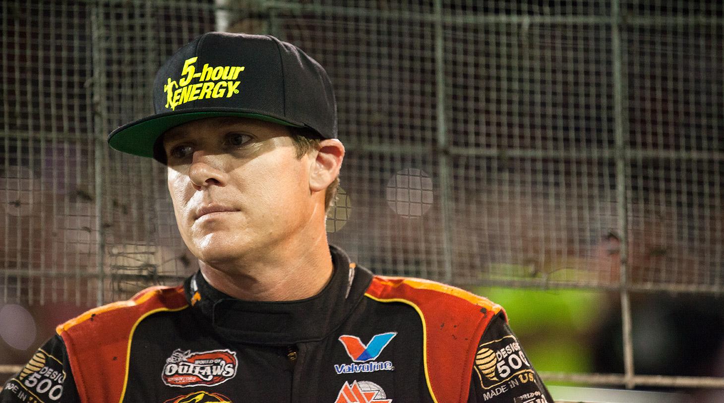 Jason Johnson has won over 240 races during his career. (Jeffrey Turford / TDP)