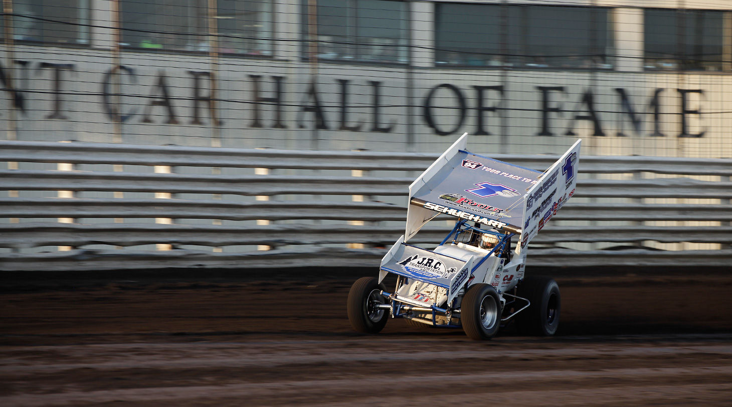 Logan Schuchart qualified for his first Knoxville Nationals in 2016. (Jeffrey Turford / TDP)