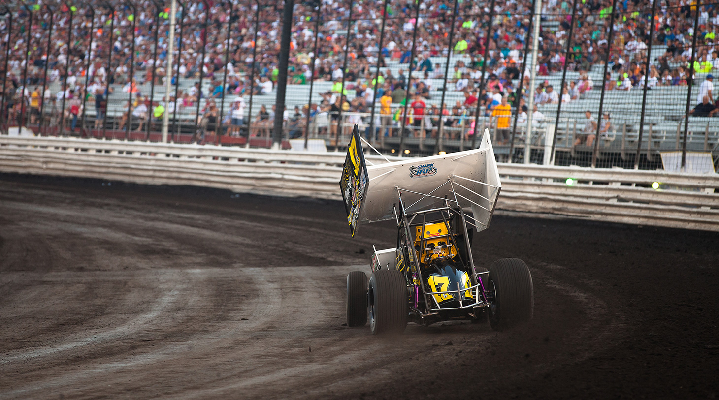 Billy Balog is the most successful racer in Interstate Racing Association (IRA) history. (Jeffrey Turford / TDP)
