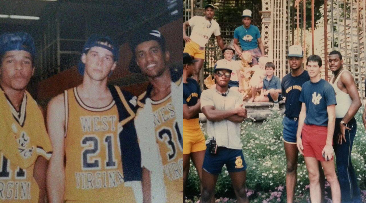 Dale Blaney had a Hall of Fame career at West Virginia and was fortunate enough to travel the world playing basketball. (The Dale Blaney Collection)