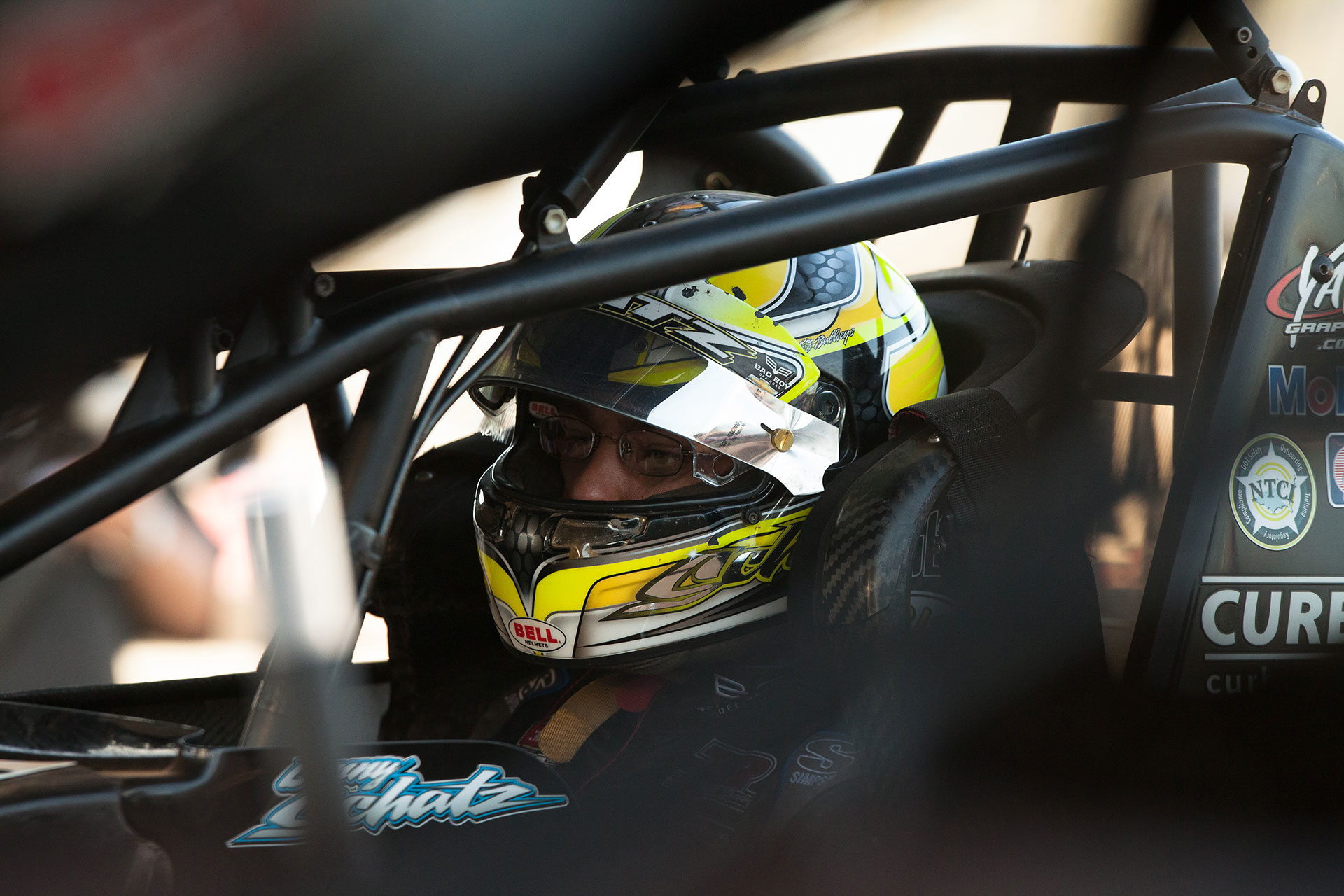 Donny Schatz is the current face of sprint car racing. (Jeffrey Turford / TDP)