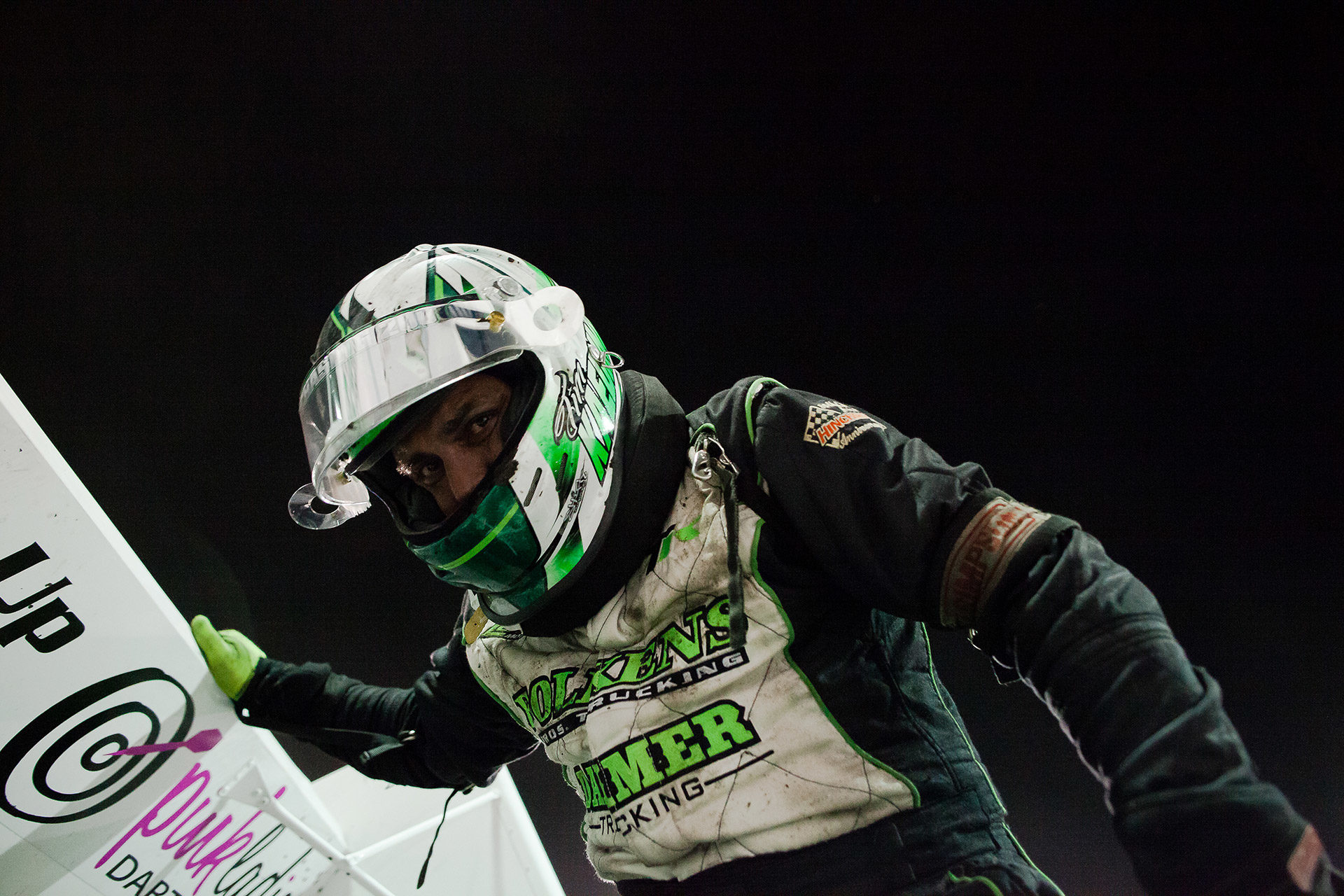 Tim Kaeding about to do the wing dance at The 2016 Knoxville Nationals